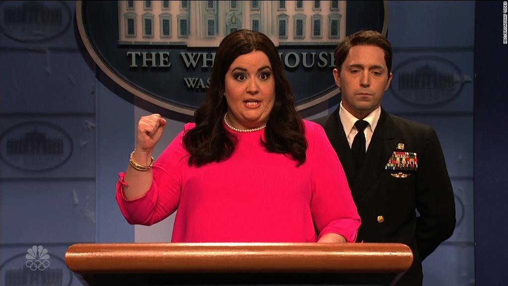 'SNL' mocks President Trump's physical exam