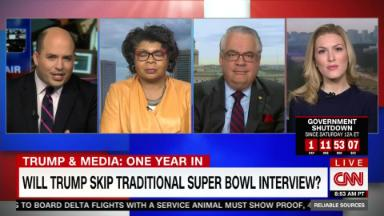 Will Trump skip traditional Super Bowl interview?