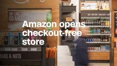 Amazon opens checkout-free store