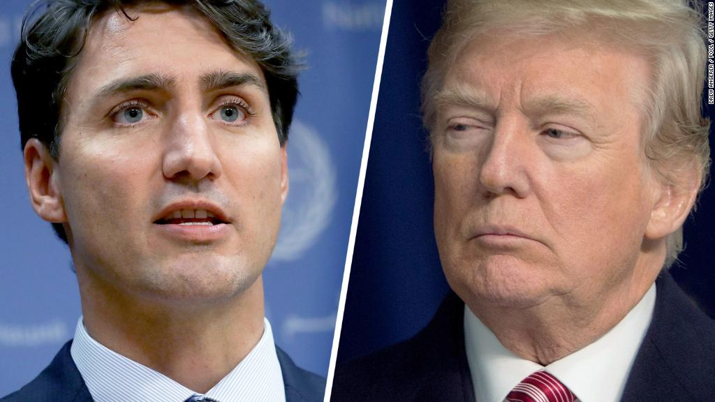 Trump is wrong about a trade deficit with Canada