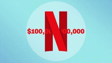 Netflix joins the exclusive $100 billion club