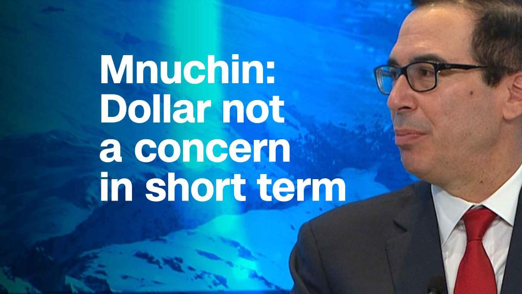 Mnuchin: Dollar not a concern in short term