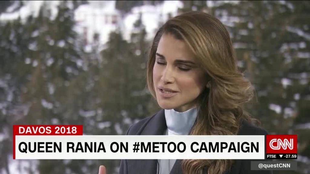 Queen Rania calls for change #MeToo