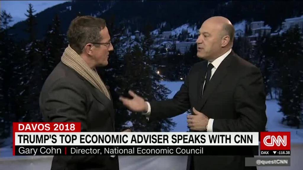 Cohn, Quest talk Trump, trade & taxes