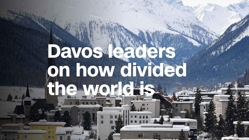 Davos leaders on how divided the world is