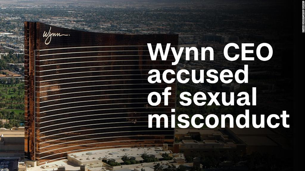 Steve Wynn accused of sexual misconduct in WSJ report