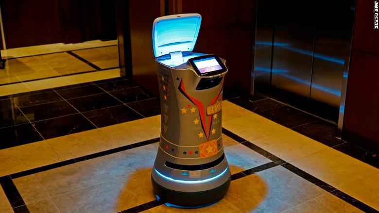 Elvis robot Savioke
