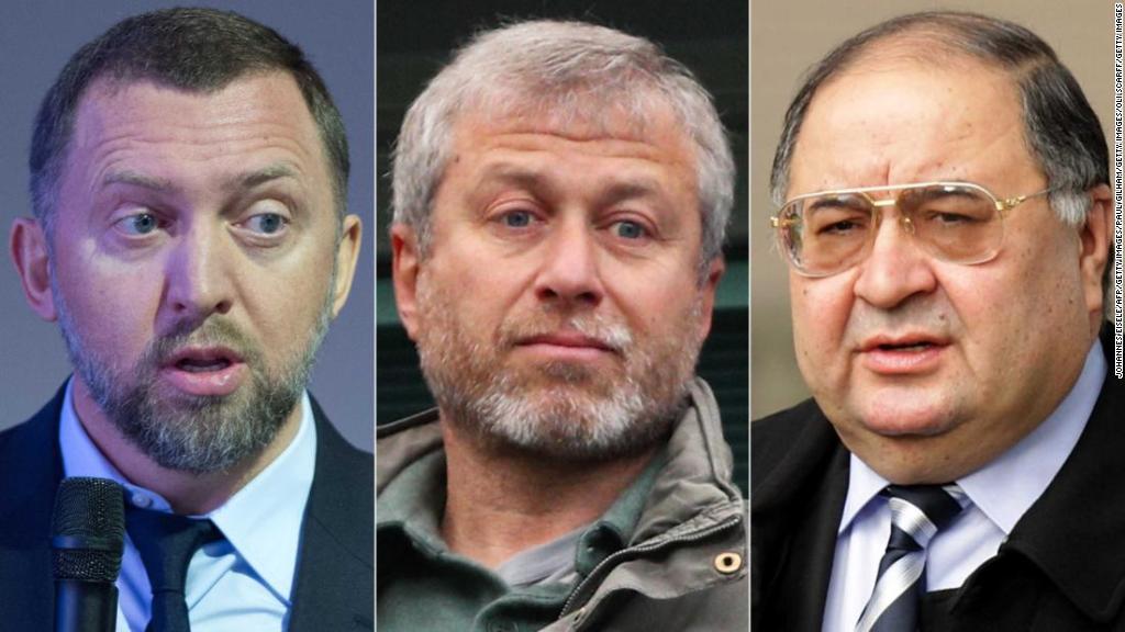 U.S. names Russian oligarchs in 'Putin list'