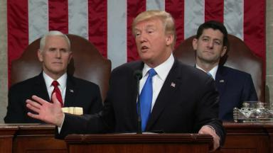 Trump's State of the Union Speech in 2 minutes