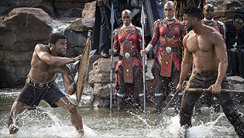 'Black Panther' roars past $700 million worldwide in week two