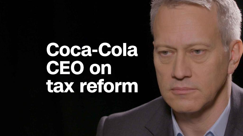 Coca-Cola CEO: Tax cuts could create jobs for us 'indirectly'