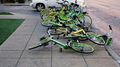 Dallas's rush into bikeshare turns controversial
