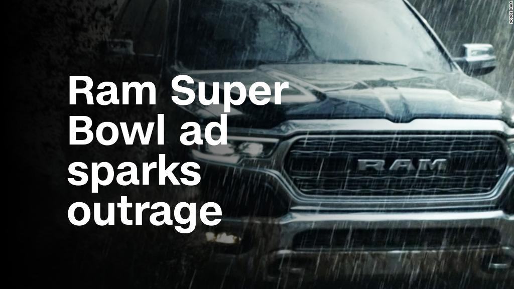 This Ram Super Bowl ad featuring MLK sparks outrage