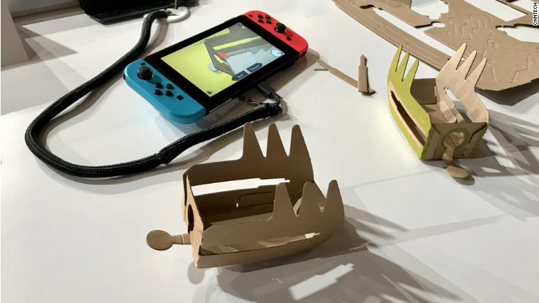 nintendo rc car cardboard