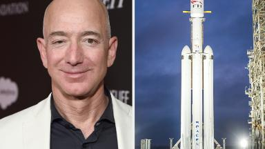 Bezos to SpaceX: I'm rooting for you guys