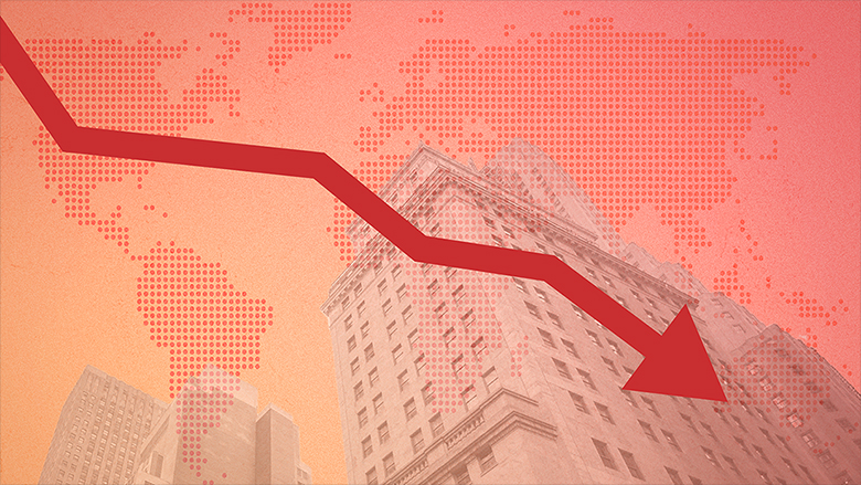 Global market down