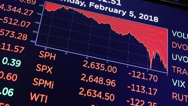 How the stock market went from boring to bananas in just one week