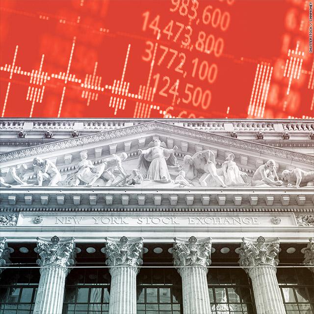 Dow drops more than 400 points after Trump announces tariffs
