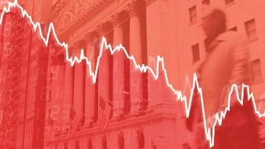Dow plunges 1,033 points and sinks into correction