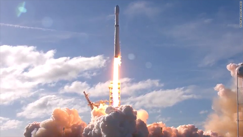 SpaceX's Tesla's out-of-this-world view