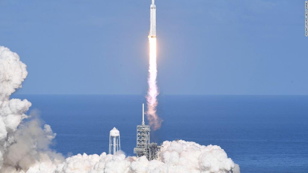 spacex falcon heavy launch - photo #1