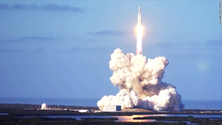 falcon heavy launch 2