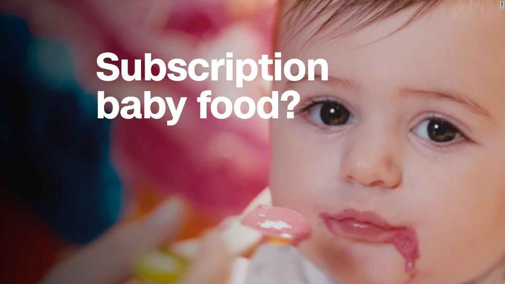Testing the subscription model for baby food