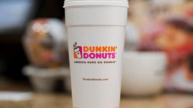 Dunkin' Donuts pledges to ditch foam cups