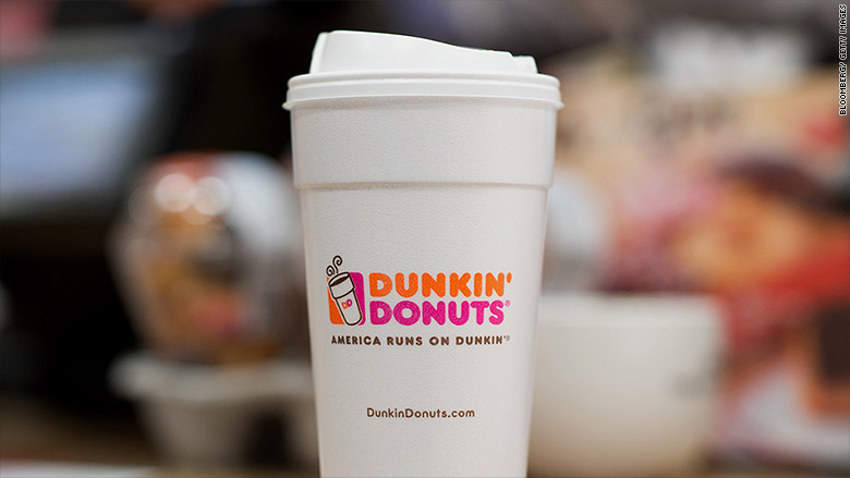 Dunkin Donuts Is Eliminating Its Styrofoam Cups By 2020