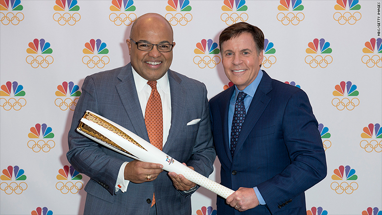 NBC says its Olympics US advert gross sales set report for…