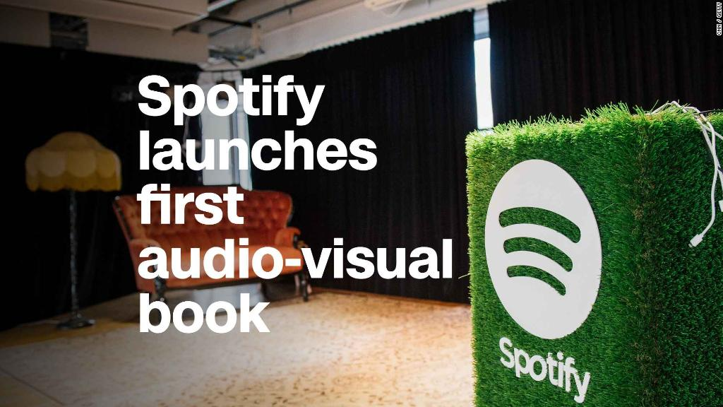 Spotify releases its first audio-visual book