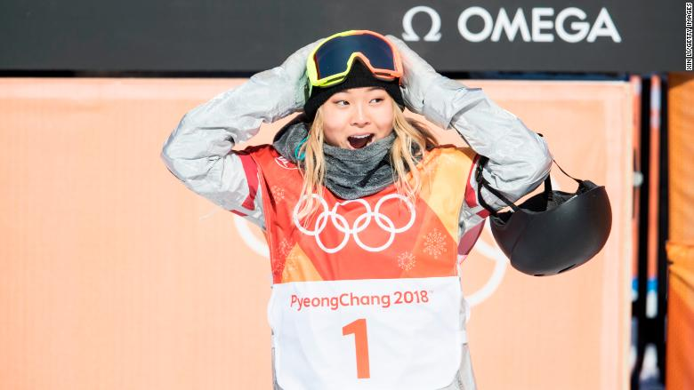chloe kim endorsements gold