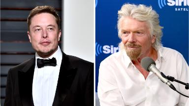 Richard Branson is 'jealous' of Elon Musk's rocket launch