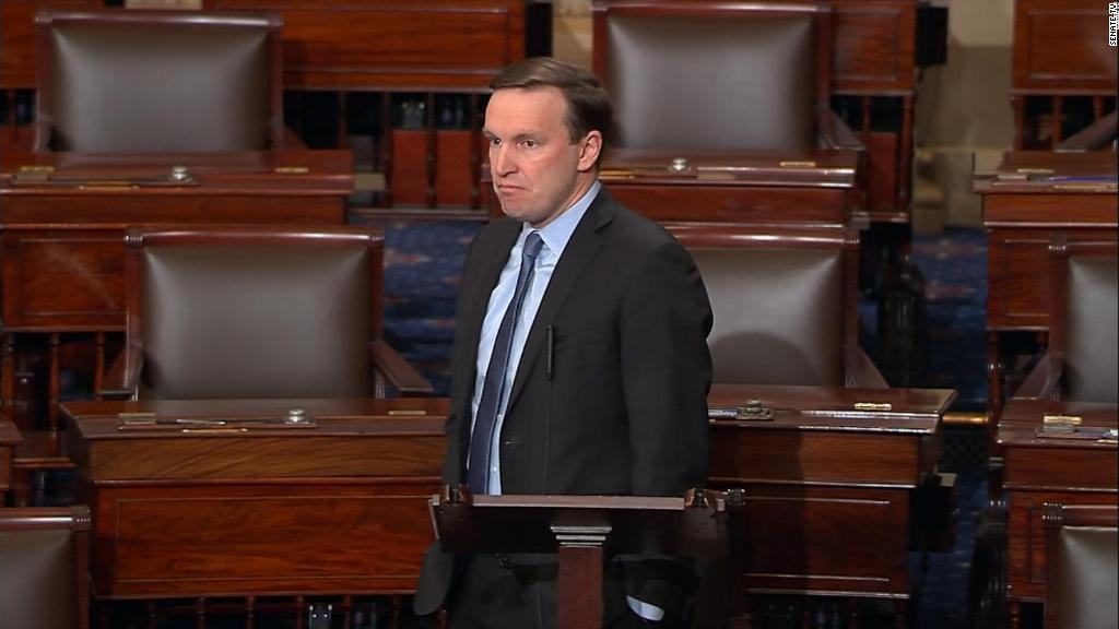 Sen Murphy: Shootings a 'consequence of our inaction'