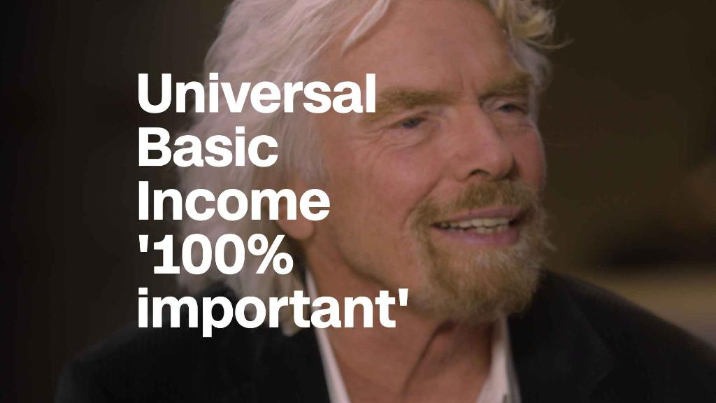 Richard Branson: Universal basic income 'will come about one day'