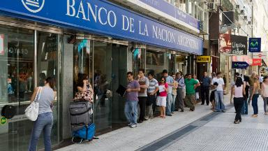 Banks in Argentina to close for 4 days amid strike