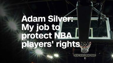 Adam Silver: My job is to protect NBA players' free speech