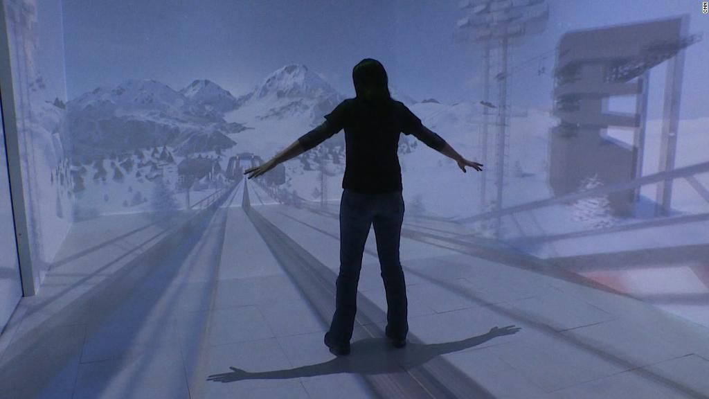Experiencing the Olympics in virtual reality