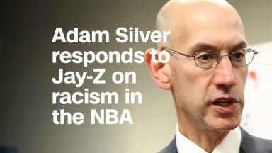 Adam Silver responds to Jay-Z on racism in NBA