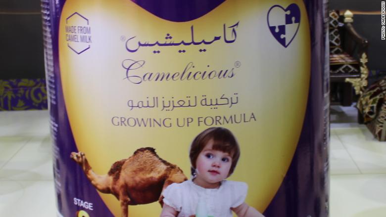 camel milk baby formula