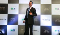 Donald Trump Jr. dismisses ethics concerns in India