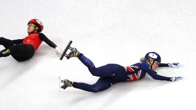 NBC's Winter Olympics ratings down but not exactly on thin ice