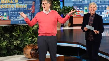 Watch Bill Gates try to guess grocery prices