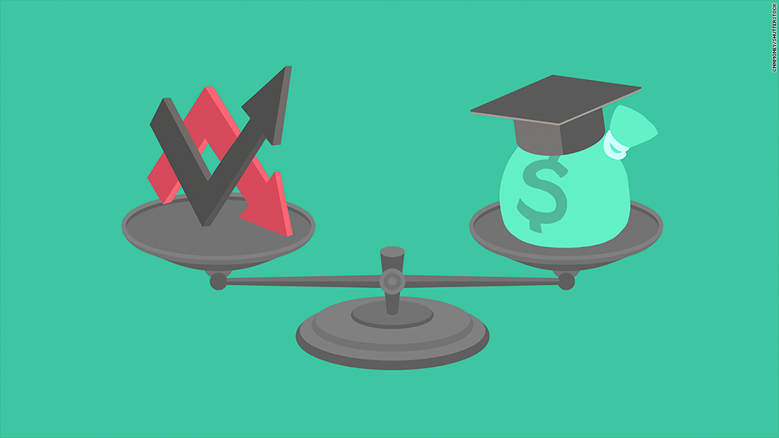 He can afford to pay off his student debt faster. But should he?