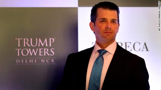Donald Trump Jr. had 'a good week'. Here's why