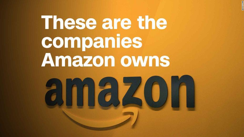 These are the companies Amazon owns