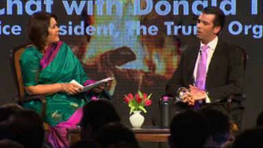 Donald Trump Jr. wraps India trip with 'Fireside Chat'