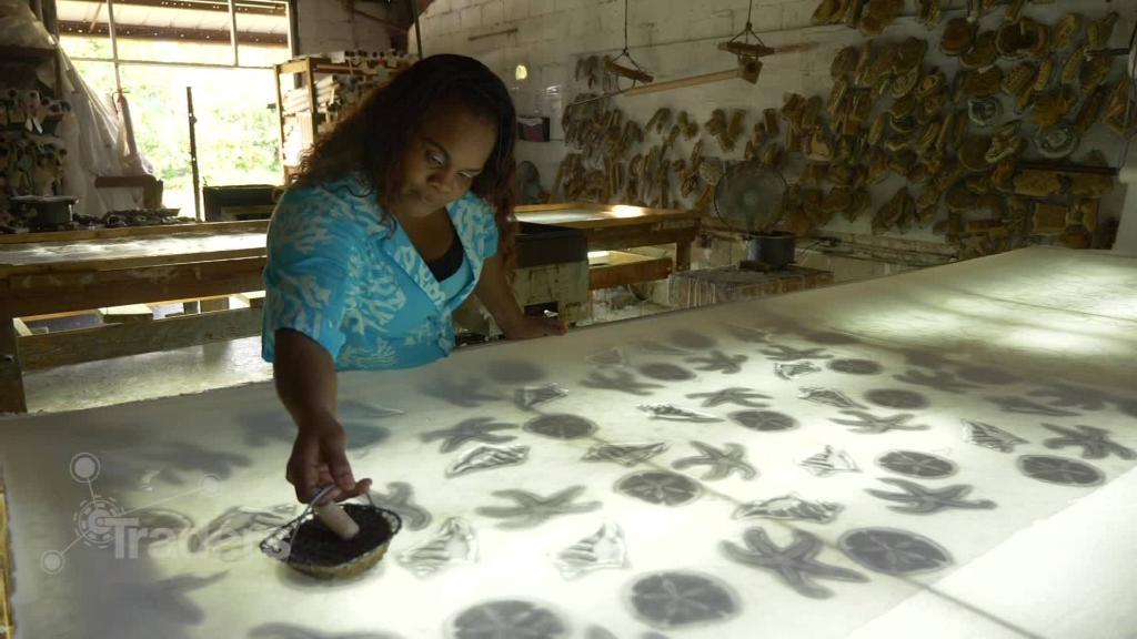 This batik fabric maker survives off digital