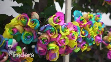 These specialty roses are a hit in China