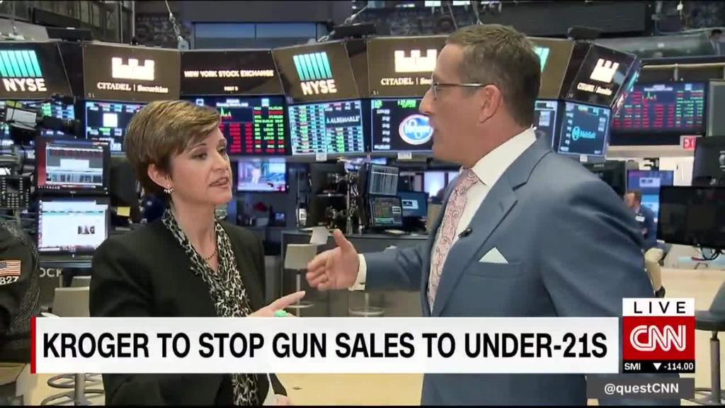 Maggie & Quest: Companies move gun control debate forward
